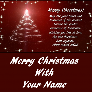 W) EN: Merry Christmas with YOUR NAME, Memories of tomorrow