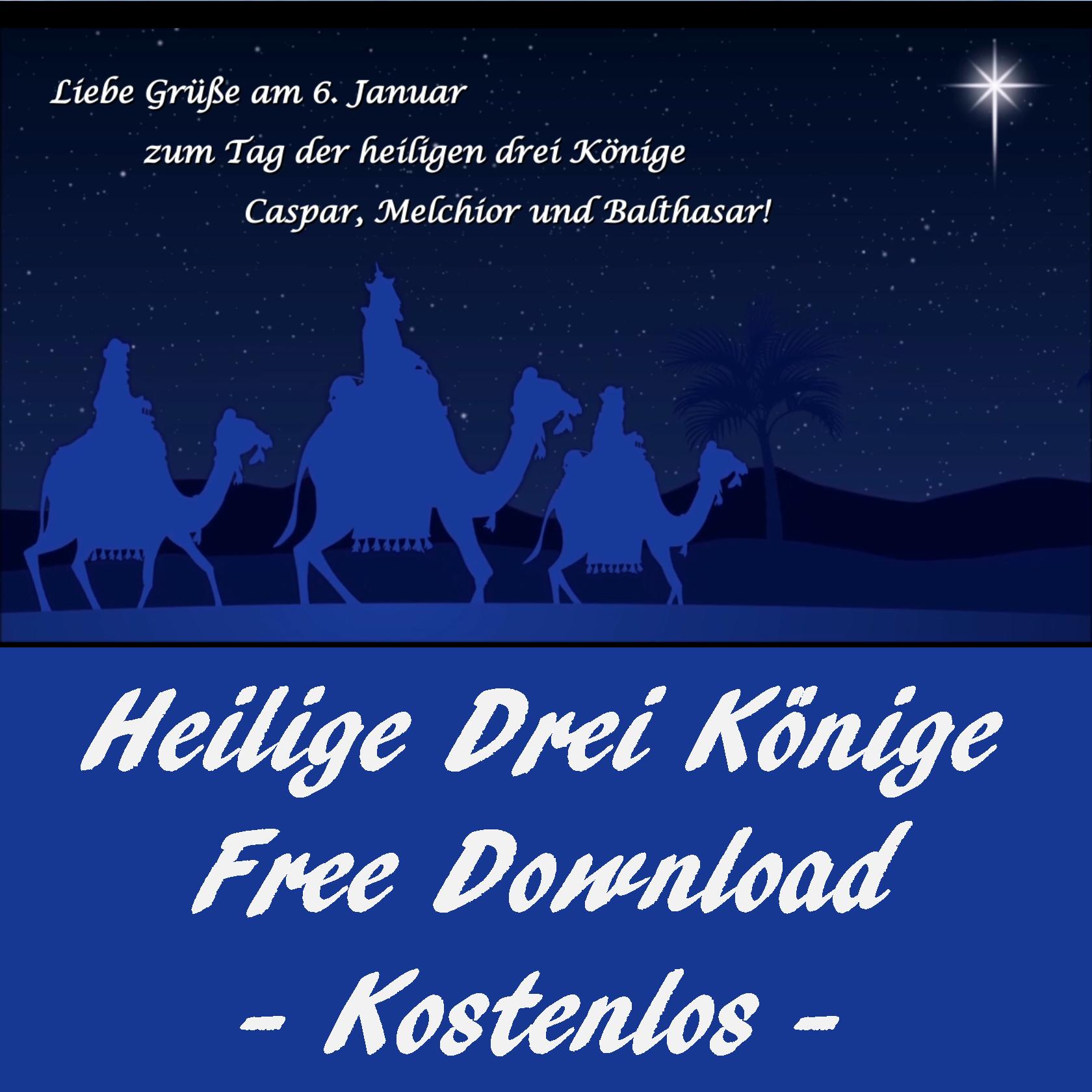 Feiertag Heilige Drei Könige