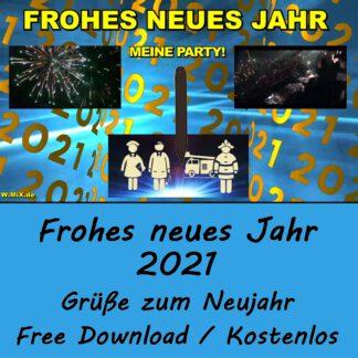 A) Frohes neues Jahr 2021! - CORONA (FREE DOWNLOAD / Kostenlos)