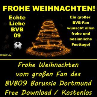 Frohe Weihnachten, BVB09, BVB 09, BVB-09, Borussia Dortmund, Dortmund, Echte Liebe, Geile Mannschaft,