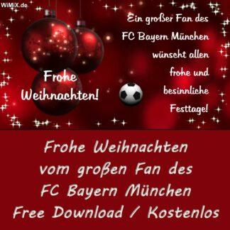 Frohe Weihnachten, FC Bayern München, Bayern, Munich, München, 4 Sterne, Mia San Mia, Grias Di, Pfiat Di,